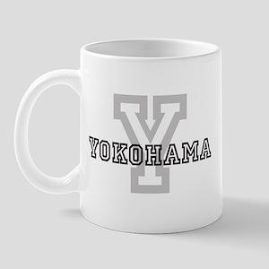 Letter Y: Yokohama Mug