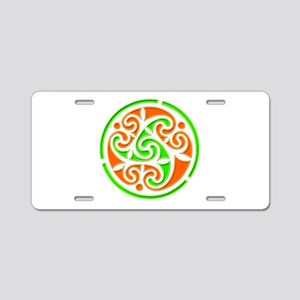 Vintage Irish Style Aluminum License Plate