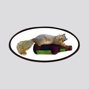 Squirrel Empty Bottle Patches