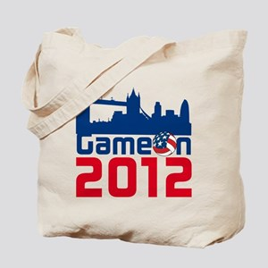 London Games Volleyball Tote Bag
