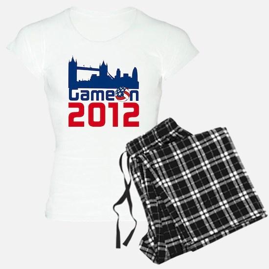 London Games Volleyball Pajamas