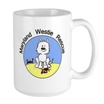MWR Beach Logo Large Mug