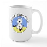 MWR Beach Logo Large Mug