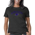 2-curveblue Women's Classic T-Shirt
