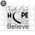 Faith Hope Carcinoid Cancer Puzzle