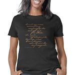 2nd amendment script lt Women's Classic T-Shirt