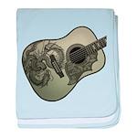 Karami ryuu guitar 1 baby blanket