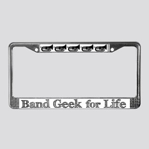Baritone Band Geek License Plate Frame