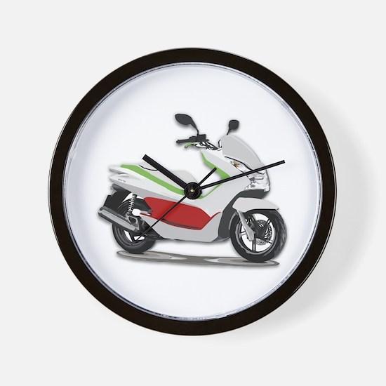 Funny Mopeds Wall Clock