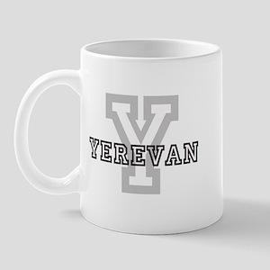 Letter Y: Yerevan Mug