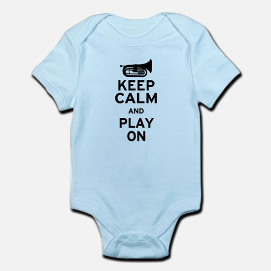 Keep Calm Baritone Infant Bodysuit