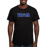 (Eye) I in Team Men's Fitted T-Shirt (dark)