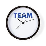 (Eye) I in Team Wall Clock