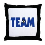 (Eye) I in Team Throw Pillow
