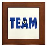 (Eye) I in Team Framed Tile