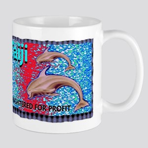 stop the slaughter of dolphin Mug