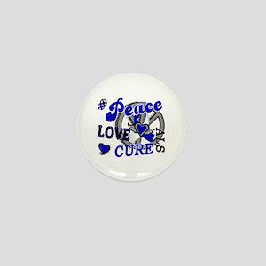 Peace Love Cure ALS 2 Mini Button
