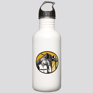 Dock Worker Stainless Water Bottle 1.0L