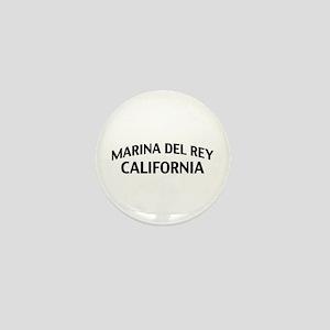 Marina del Rey California Mini Button