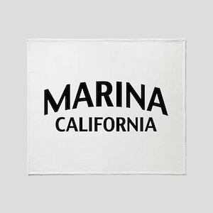 Marina California Throw Blanket
