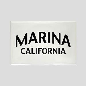 Marina California Rectangle Magnet
