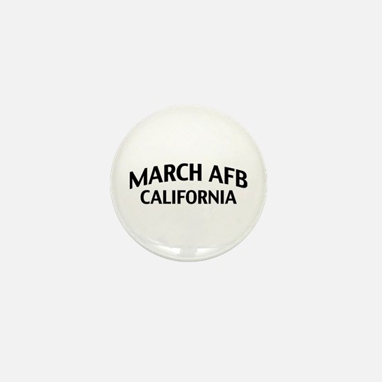March AFB California Mini Button