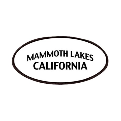 Mammoth Lakes California Patches