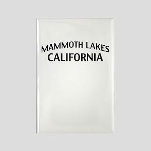 Mammoth Lakes California Rectangle Magnet
