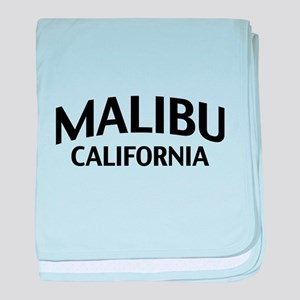 Malibu California baby blanket