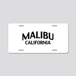 Malibu California Aluminum License Plate