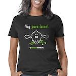 veg-pure-laine-fr-2-black Women's Classic T-Shirt