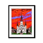 New Orleans Artist JK Schwehm Framed Panel Print