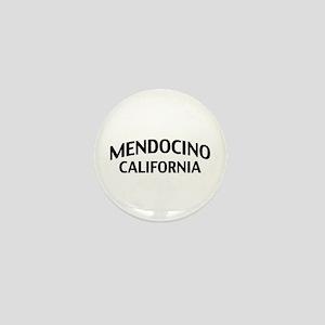 Mendocino California Mini Button