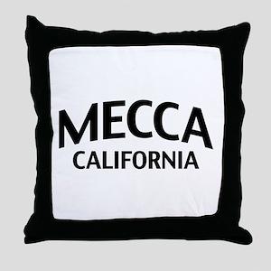 Mecca California Throw Pillow