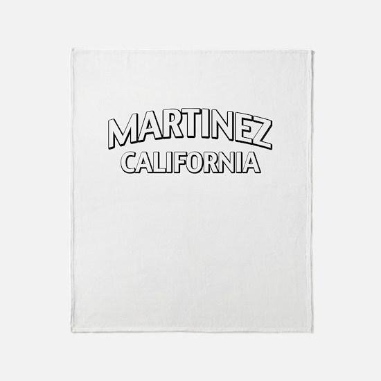 Martinez California Throw Blanket