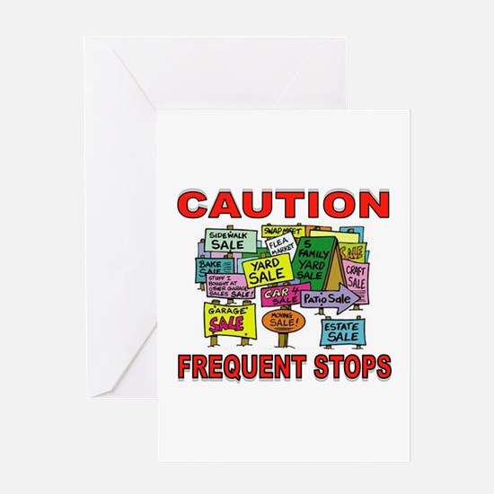 STOP THE CAR Greeting Card
