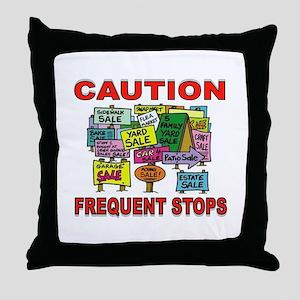 STOP THE CAR Throw Pillow