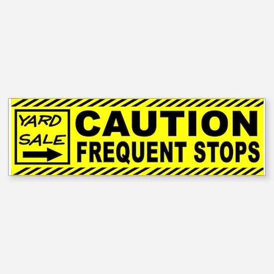 STOP THE CAR Sticker (Bumper)