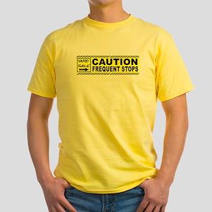 STOP THE CAR Yellow T-Shirt