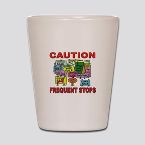 STOP THE CAR Shot Glass