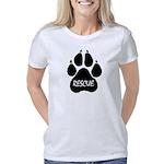 Rescue Paw (transparent te Women's Classic T-Shirt