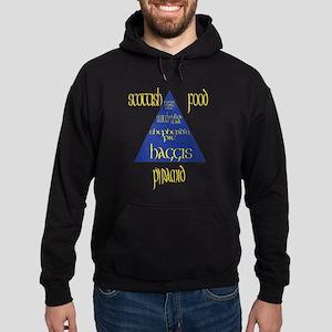 Scottish Food Pyramid Hoodie (dark)