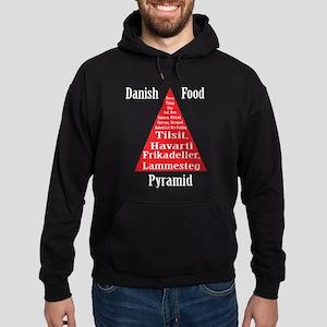 Danish Food Pyramid Hoodie (dark)