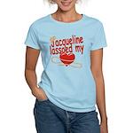 Jacqueline Lassoed My Heart Women's Light T-Shirt
