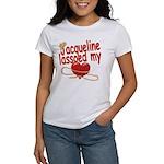 Jacqueline Lassoed My Heart Women's T-Shirt