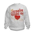 Jacqueline Lassoed My Heart Kids Sweatshirt