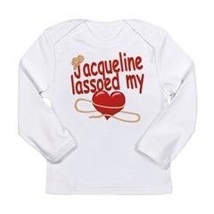 Jacqueline Lassoed My Heart Long Sleeve Infant T-S