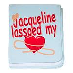 Jacqueline Lassoed My Heart baby blanket