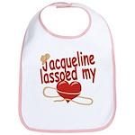 Jacqueline Lassoed My Heart Bib