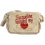 Jacqueline Lassoed My Heart Messenger Bag